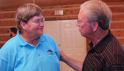 Our friend Terry Womack officially said goodbye on Tuesday as she retired from the Parks Dept. | Lanny Goodwin, Terry Womack, Womack, Murfreesboro Parks, Murfreesboro news, Murfreesboro, WGNS news, WGNS, Sunshine, Sunshine Players