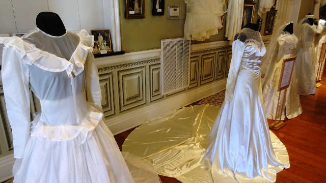 Wedding dresses through the decades now through march for Wedding dress shops in murfreesboro tn