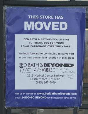 where is bed bath & beyond? - murfreesboro news and radio