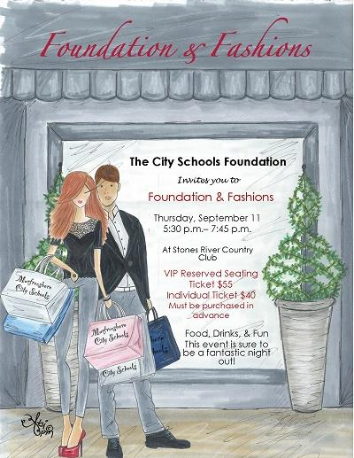 Fashion & Foundation | city schools, foundation, fashion show, WGNS, WGNS News, Murfreesboro news