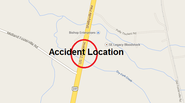 Two motorcyclist riding side by side struck by car on 231 South Saturday | motorcycle accident, motorcycle, 231 South, Shelbyville Highway, accident, crash, Harley, Harley Davidson, Kenny Taylor, Kerry Whittaker, Roy Beasley