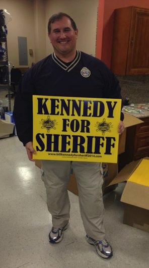 Who is stealing Bill Kennedy for Sheriff signs in Murfreesboro? | Bill Kennedy, Robert Arnold, Sheriff Arnold, Rutherford County Sheriff, Sheriff, Murfreesboro news