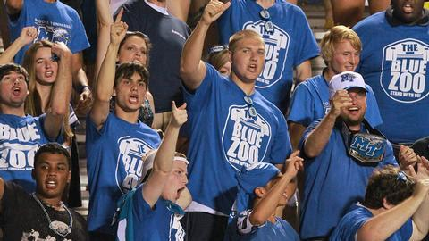 One ticket, three games? Get yours for Blue Pride Saturday | Blue Pride Saturday, WGNS, Murfreesboro news, Murfreesboro sports, MTSU, Middle Tennessee, Blue Zoo