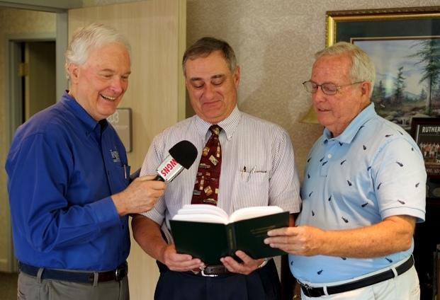 """Local History Book """"Rutherford Ramblings"""" In School Libraries   Greg Tucker; Bart Walker; Rutherford Ramblings; Don Odom; Rutherford County Schools; WGNS"""