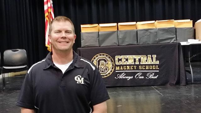 Brent Meadows, Central Magnet 7th Science Teacher, is our new Educator of the Month | Brent Meadows, Central Magnet School, Educator of the Month, WGNS, WGNS News, Murfreesboro news