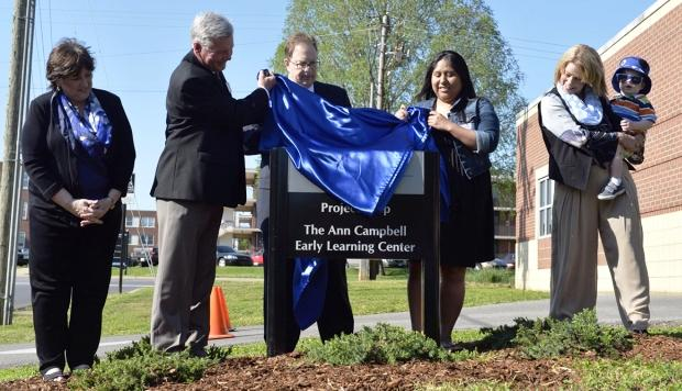 """New Name for """"Project Help"""", Now """"The Ann Campbell Early Learning Center"""" 