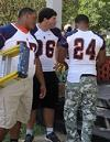 MFRD and Blackman HS Football Team Installs 26 Free Smoke Alarms