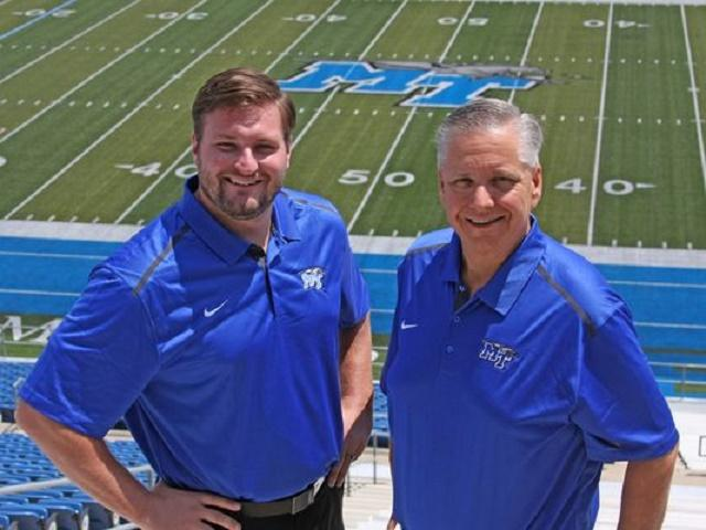 Burke joins Walters on Blue Raider Network | Dennis Burke, Chip Walters, Blue Raider Network, WGNS, Murfreesboro news, WGNS Sports, WGNS News