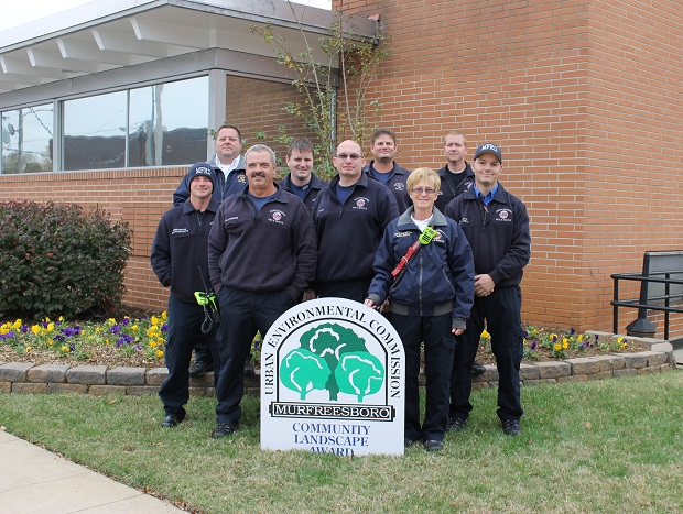The Fire Department with the BEST landscaping is... | landscape, Community Landscape, Murfreesboro Fire, Fire Department, Murfreesboro Fire Department, Murfreesboro news