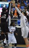 Blackman Girls Win First Ever State Tournament Game