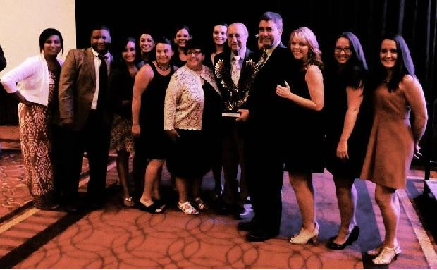 Peter Demos Honored by Tennessee Hospitality and Tourism Association | Tennessee Hospitality and Tourism Association; Peter Demos; WGNS