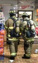 MFRD Fire At EZ Mart On Memorial