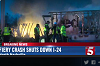 Two semi truck drivers die in fiery I-24 accident