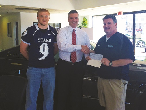 Ford of Murfreesboro and Siegel Football Program Representatives TEAM UP and Raise Money | Ford, Ford of Murfreesboro, Siegel, Siegel Football, David Lee, Murfreesboro David Lee, Murfreesboro vehicles, Murfreesboro
