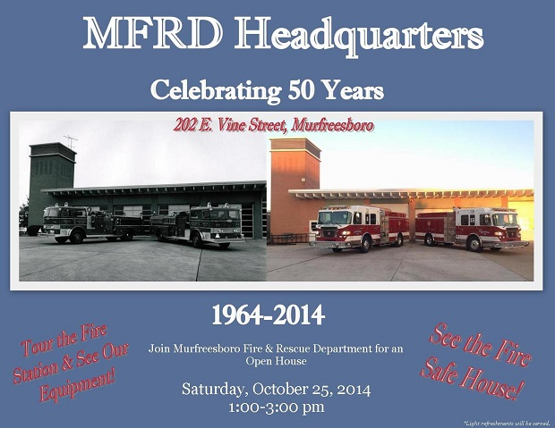 History celebrated at the Murfreesboro Fire Department Vine Street Location  | Fire Department, Murfreesboro News, WGNS News, Murfreesboro, Vine Street Fire Hall