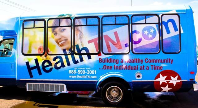 TN Healthcare Bus Here All Week! | TN Healthcare, Affordable Care Act, deadline March 31, 2014, WGNS
