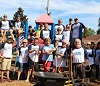 Volunteers help fix and rebuild playgrounds in Rutherford County