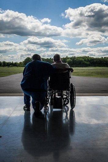 Help a WWII or Korean War Veteran take an Honor Flight  | Michael Zietz, Justin Holder, WGNS News, Honor Flight, Zietz, flight, WWII, Veteran, Korean War, Korean War Veteran