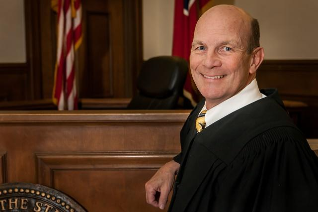 General Sessions Judge McFarlin Announces Re-election Bid | Judge, Ben Hall McFarland, Vote 2014, election, WGNS, Murfreesboro news, WGNS News