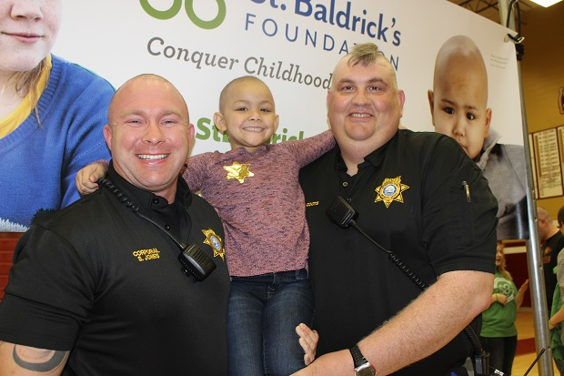 Sheriff's Deputies Shave Heads for Cancer | St. Baldricks, Sheriff, Rutherford County Sheriff's Office, Murfreesboro News, Murfreesboro