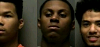 Three arrested in Murfreesboro for the alleged robbery of a food delivery man