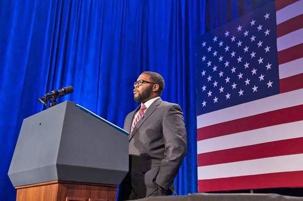 MTSU Graduate Introduced President Obama at DC Function | Joshua Crutchfield, Cruthchfield, African American, Murfreesboro news, Murfreesboro, Washington, Washington DC, President Obama, Obama, President