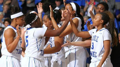 Lady Raiders Re-enters AP Poll at No. 23 | Lady Raiders, AP Poll, WGNS, Murfreesboro news, Murfreesboro sports