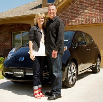 50,000th Leaf, Made In Rutherford County, Delivered To Texas | Nissan Leaf, 50,000th electric car sold, made in Rutherford County, Smyrna, WGNS