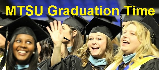 MTSU Graduation This Saturday | MTSU, fall commencement, Saturday, December 13, 2014, Murphy Center, WGNS