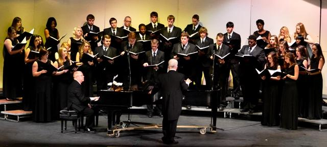 Methodist University Chorale Performing March 2nd at First Presbyterian | Methodist University Chorale, concert, historic First Presbyterian Church, Murfreesboro, TN, WGNS