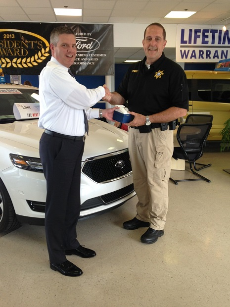 Rutherford County Sgt. Bill West honored for helping to ensure special needs children attended the rodeo | Ford of Murfreesboro, Ford, David Lee, Ford Mustang, Mustang,Murfreesboro news, Murfreesboro Ford, Lee,Owner of Ford of Murfreesboro, Sgt. Bill West, Bill West, Sgt. West