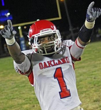 Oakland Scores Late to Defeat Baylor 17-10 | Oakland, Baylor, WGNS, WGNS News, Murfreesboro news, Murfreesboro sports, prep sports, prep football