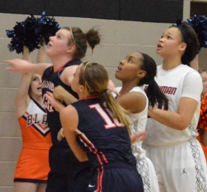 Blackman versus Oakland in Girls 4AAA Title Game | Oakland, Blackman, region, basketball, WGNS, Murfreesboro news, Murfreesboro sports