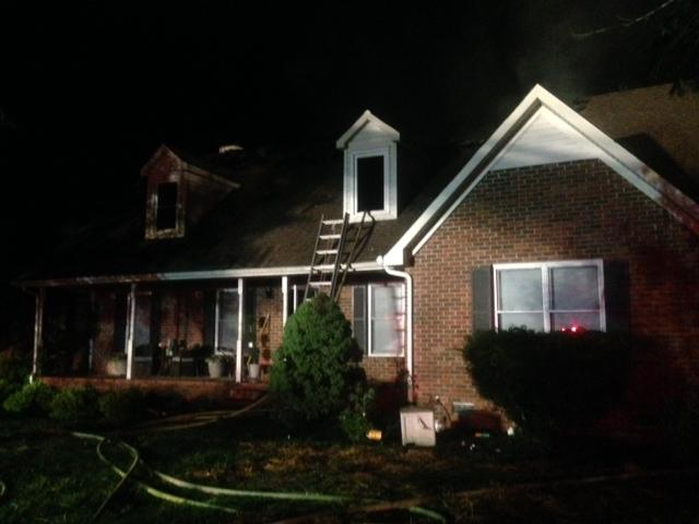 MFRD Responds to House Fire at 3306 Overhill Court | fire, Murfreesboro Fire and Rescue, Overhill Court, WGNS, Murfreesboro news