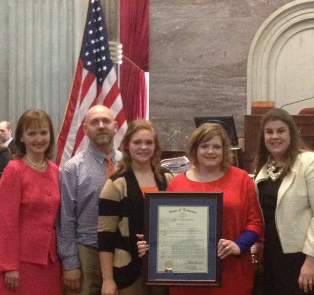 Family that donated over 1,500 books to Rutherford County Students recognized on Capital Hill | Dawn White, Murfreesboro news, Murfreesboro, TN, WGNS, Murfreesboro newspaper, Murfreesboro politics, Rutherford County