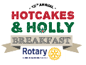 """Rotary's """"12th Hotcakes & Holly"""" is Dec. 13th at MTCS! 