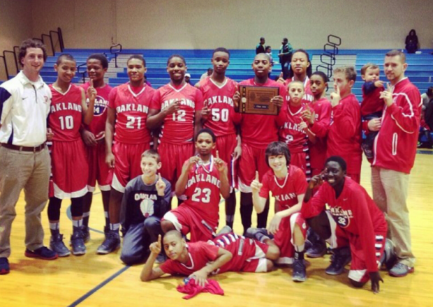 Oakland Middle Boys Go Back to Back | Oakland Middle, WGNS, Murfreesboro news, Murfreesboro sports, sectional champions