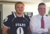 Ford of Murfreesboro and Siegel Football Program Representatives TEAM UP and Raise Money