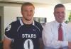 Ford of Murfreesboro and Siegel Football Program Representatives TEAM UP and Raise Money