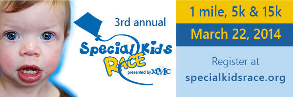 "Can't Run? The Special Kids Race Need's ""Cheer Groups"" on Race Day - Sign Up Now 