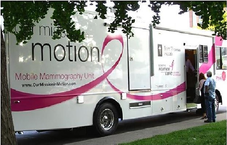 St. Thomas Medical Mission at Olive Branch Church 10AM-2PM Saturday | St. Thomas Mobile Medical Mission, Mobile Mammography, Olive Branch Church, 10AM-2PM Saturday, June 14, 2014, WGNS