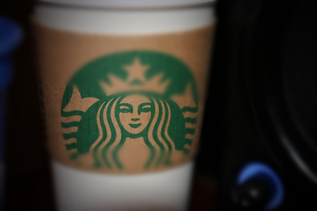 "Someone plans to have ""Starbucks"" tile in their home 