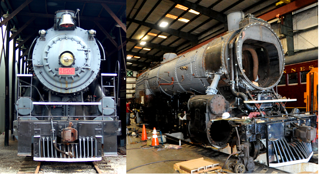 Restored Steam Locomotive Unveiled At TVRM In 1-Week | Tennessee Valley Railroad Museum; Steve Freer; steam locomotive #4501; Chattanooga; WGNS
