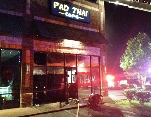 Saturday Morning Blaze Closes Thai Restaurant | fire; Pad Thai restaurant; 2568 South Church Street (Suite E); 3:45 Saturday morning; Murfreesboro Fire and Rescue Department; WGNS