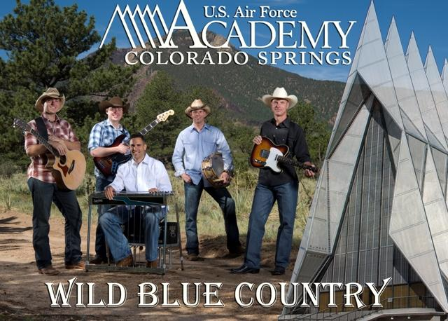 USAFB, Wild Blue Country, Free Concert in 'Boro