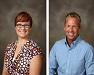 Lisa Vickery and Steven Wright are the WGNS Educators of the Month