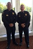 Congrats to MPD Captain Cary Gensemer and Sergeant Greg Walker