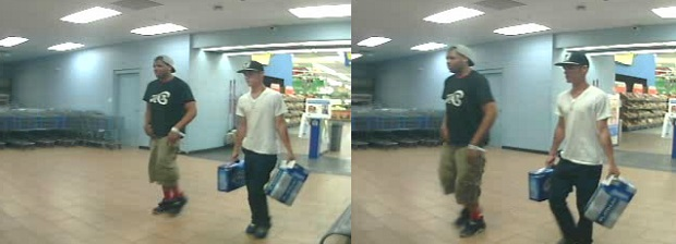 Two men captured on video after allegedly using STOLEN credit card - Have you seen these guys?  | Walmart, John Rice, suspects photo, photo, Murfreesboro news