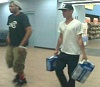 Two men captured on video after allegedly using STOLEN credit card - Have you seen these guys?