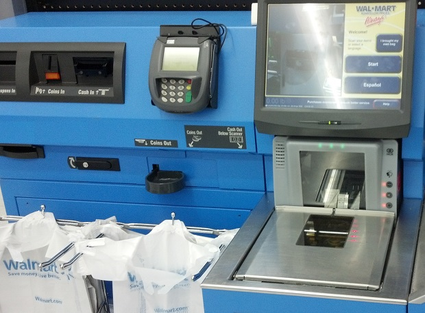 Man reportedly punches Walmart Self Checkout Machine ...